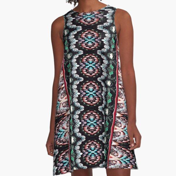 Victorian Crochet 4 A-Line Dress