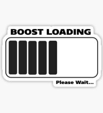 Boost Loading (Black Edition) Sticker