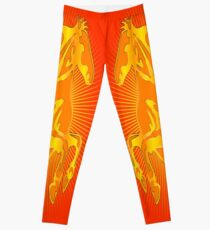 Horse Fire Leggings