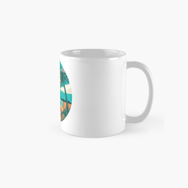 the beach Classic Mug