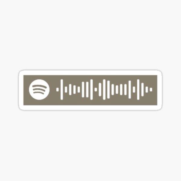 Bo Burnham Inside Spotify Code Sticker