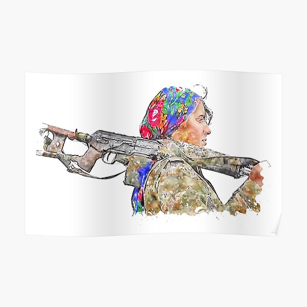 مقاتل كردي Poster