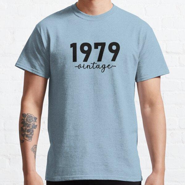 Chemise Vintage 1979, 1979 Vintage, 1979 Vintage Hoodie, 1979 Vintage Masks, 1979 Vintage Fitted Masks T-shirt classique