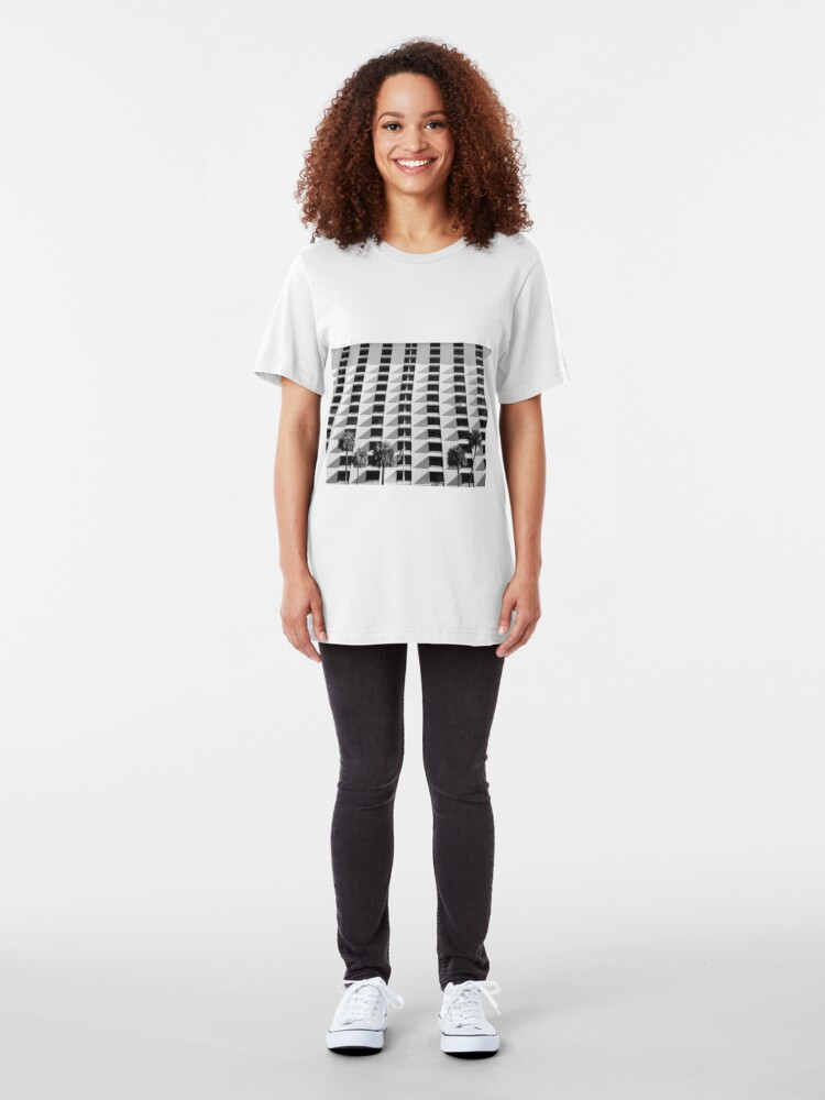 Alternate view of Evening Symmetrical Vision Slim Fit T-Shirt