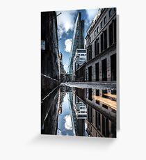 Inclination - London Lights Greeting Card