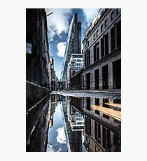 Inclination - London Lights Photographic Print