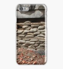 barricade of bags iPhone Case/Skin