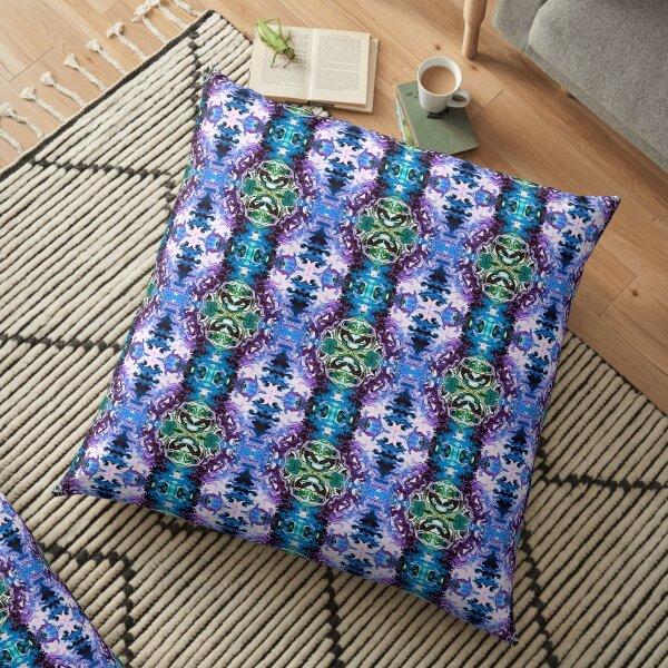 Bohemian Motif 1 Floor Pillow