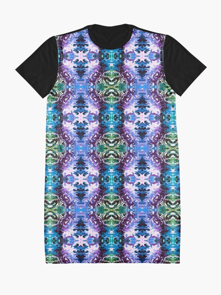 Alternate view of Bohemian Motif 1 Graphic T-Shirt Dress