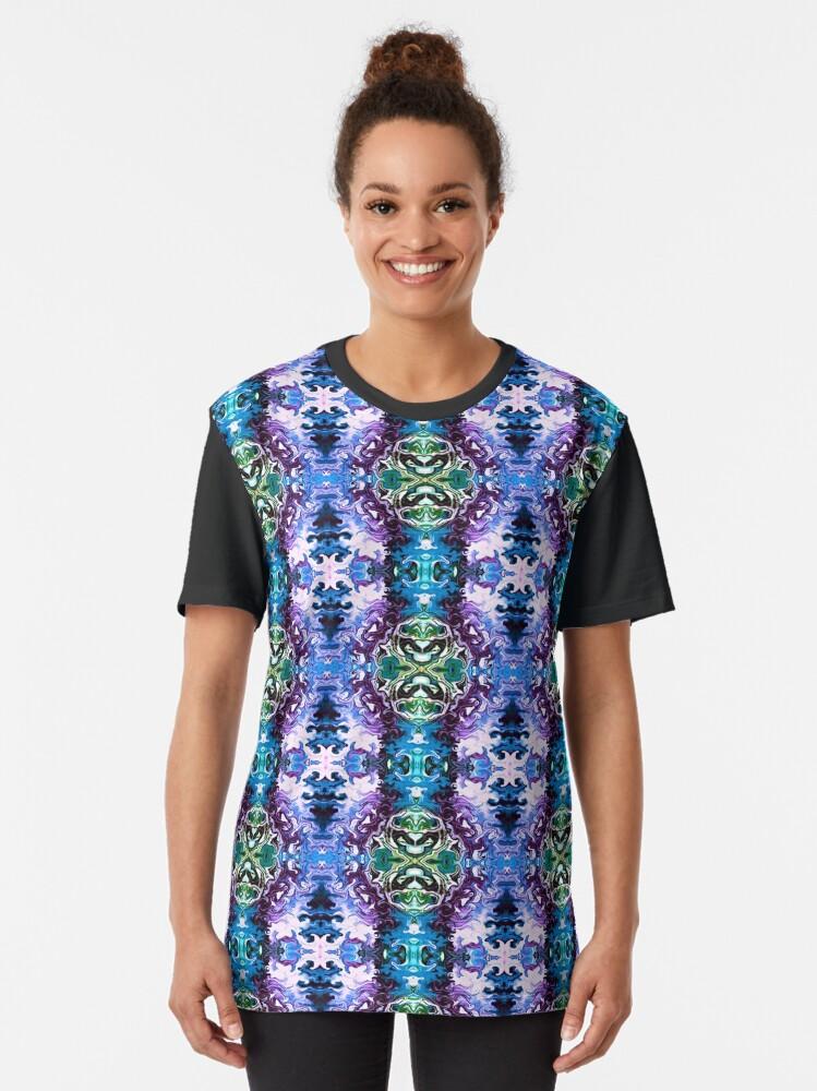 Alternate view of Bohemian Motif 1 Graphic T-Shirt