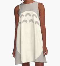Totoro Belly A-Line Dress