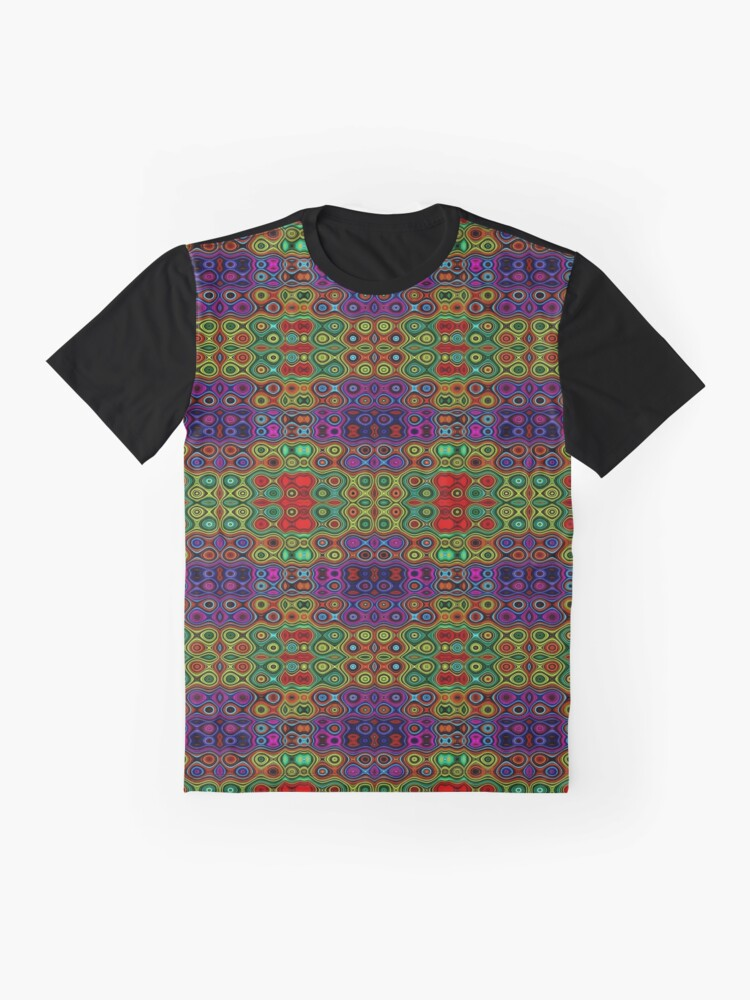 Alternate view of African Motif Graphic T-Shirt