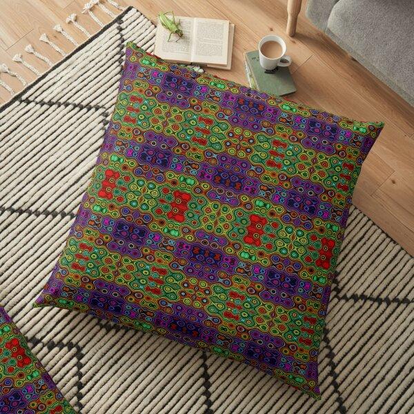African Motif Floor Pillow