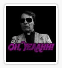 Rev. Jim Jones - Oh, Yeaahh! Sticker