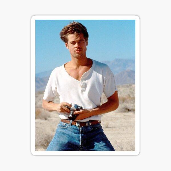 Brad Pitt Pegatina