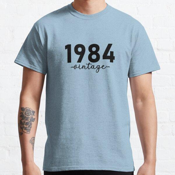 Chemise Vintage 1984, 1984 Vintage, 1984 Vintage Hoodie, 1984 Vintage Masks, 1984 Vintage Fitted Masks T-shirt classique