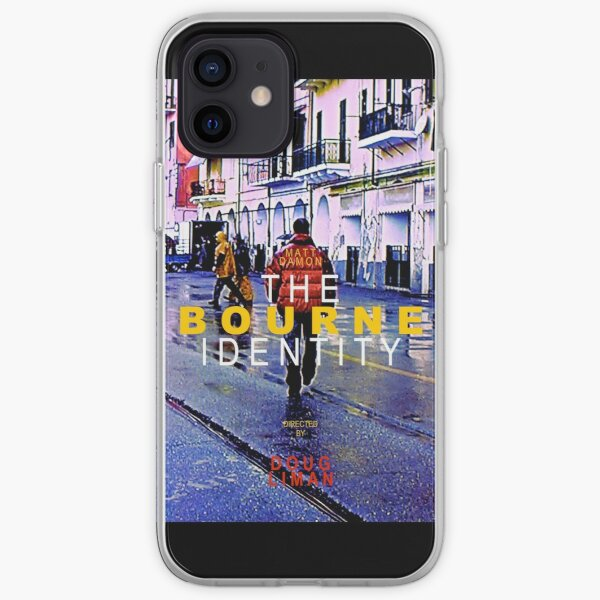 THE BOURNE IDENTITY 4 iPhone Soft Case