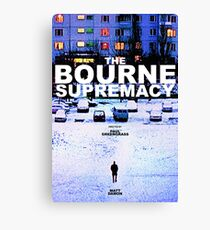 THE BOURNE SUPREMACY 3 Canvas Print