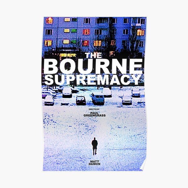 THE BOURNE SUPREMACY 3 Poster