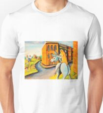 Donkey~Pembroke Corgi Dog~Cripple Creek~Colorado Unisex T-Shirt