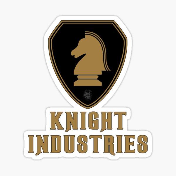 Knight Industries Logo Sticker