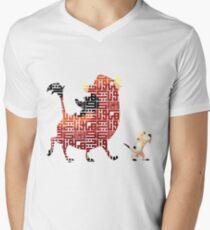 Hakuna Matata T-Shirt mit V-Ausschnitt für Männer