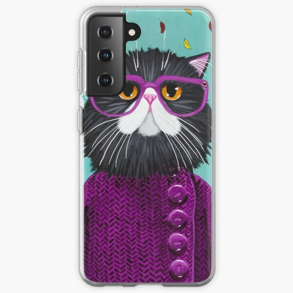 Cat's New Autumn Coat Samsung Galaxy Soft Case