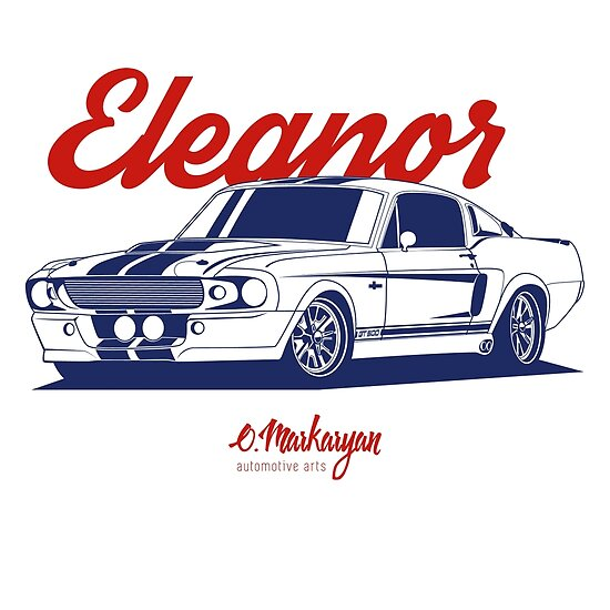 GT500 Eleanor by OlegMarkaryan