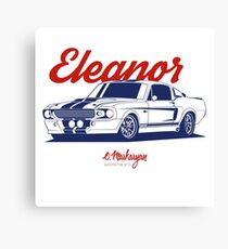 GT500 Eleanor Canvas Print