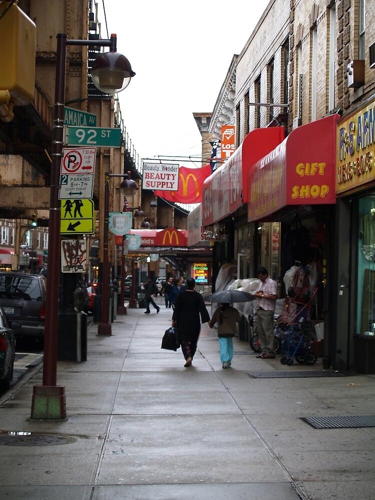 Street scene in Brooklyn, NY by nastruck