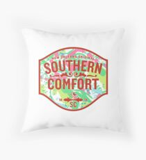 Southern Comfort Lilly Pulitzer Print Throw Pillow