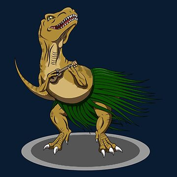 T-Rex Ukulele by StormCrow42