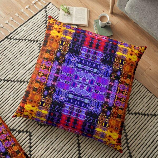 Bohemian Motif 2 Floor Pillow
