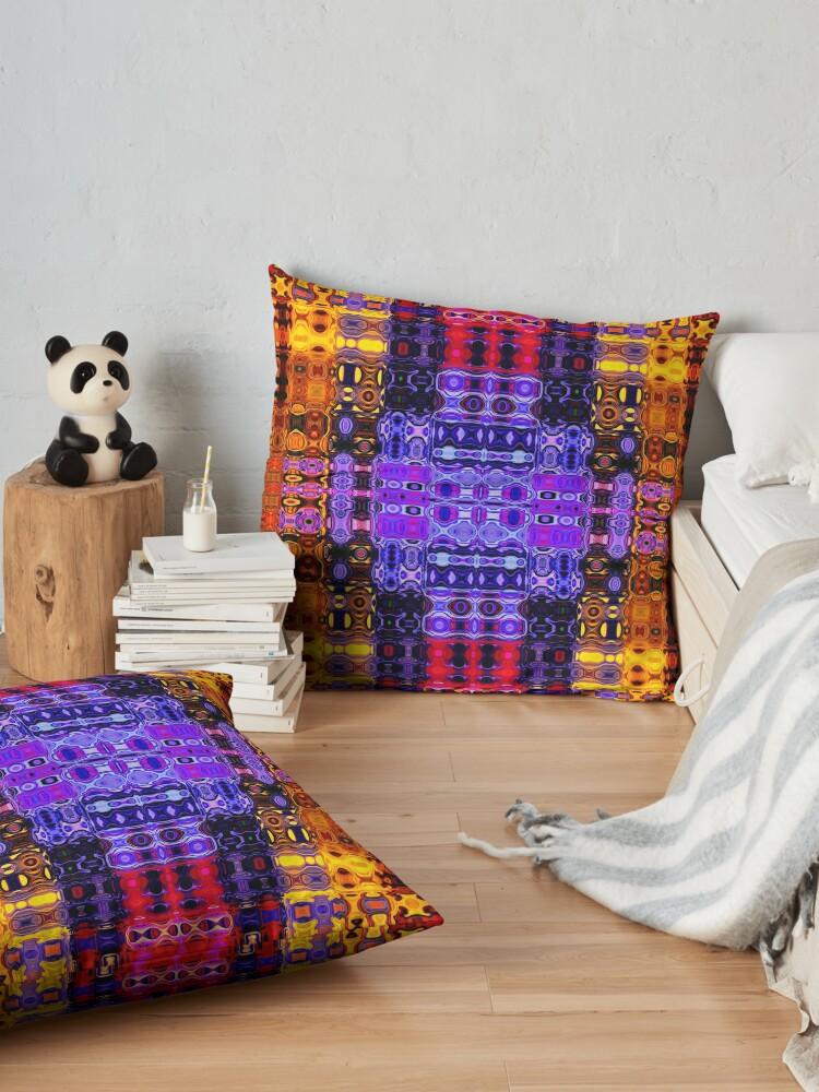 Alternate view of Bohemian Motif 2 Floor Pillow