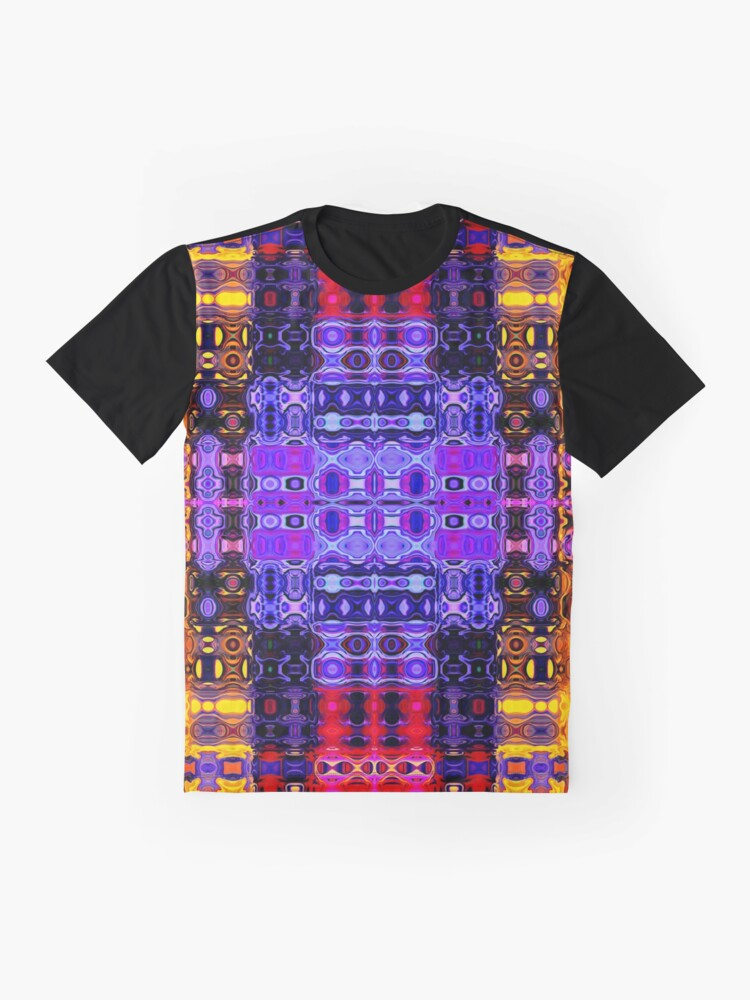 Alternate view of Bohemian Motif 2 Graphic T-Shirt