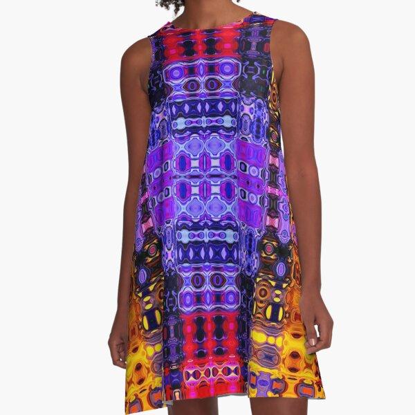 Bohemian Motif 2 A-Line Dress