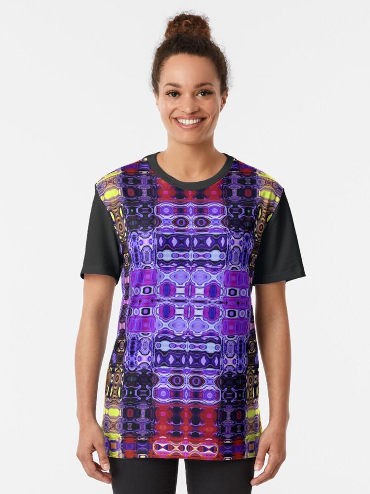 Alternate view of Bohemian Motif 3 Graphic T-Shirt