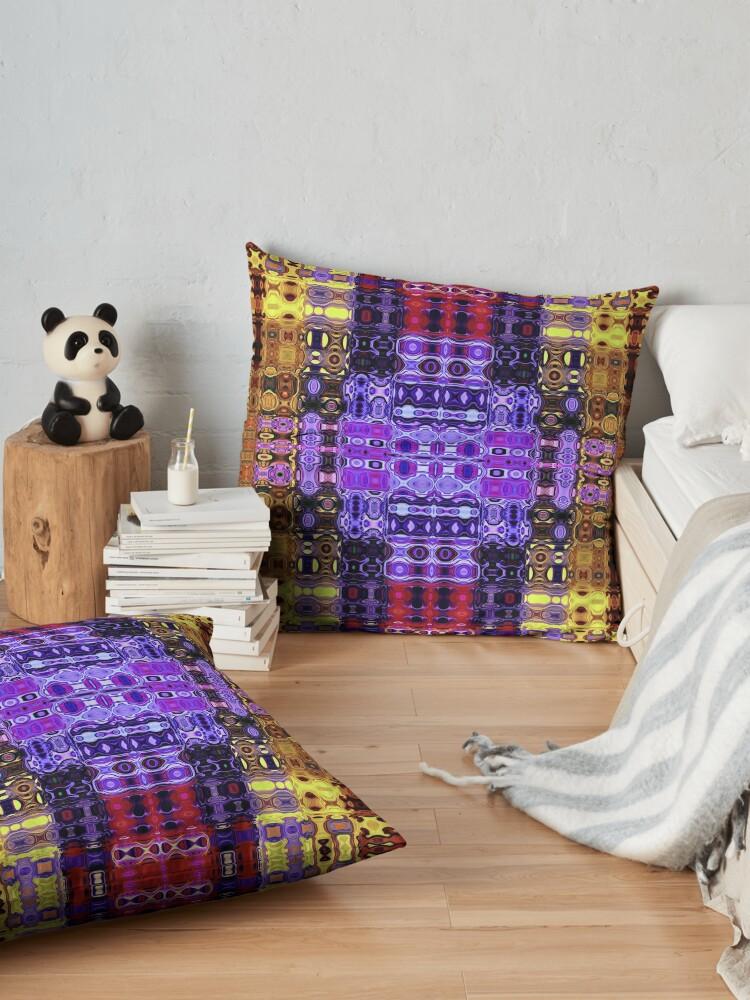 Alternate view of Bohemian Motif 3 Floor Pillow