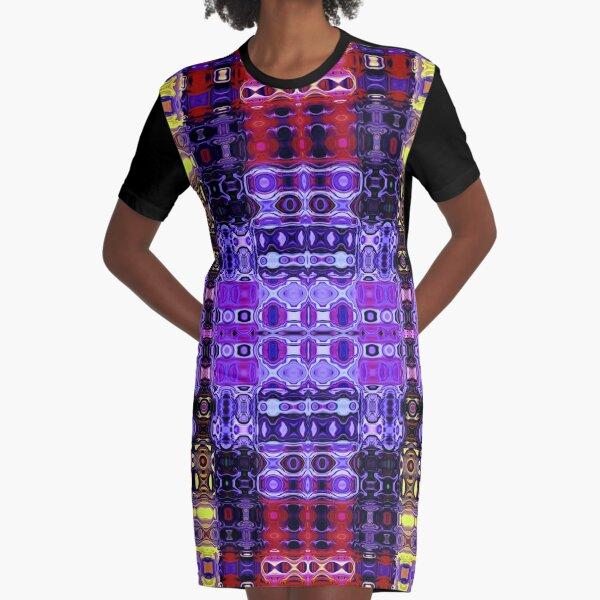 Bohemian Motif 3 Graphic T-Shirt Dress