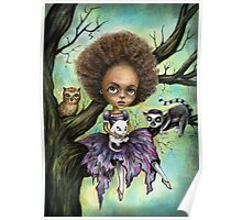 Cynthia and Critters Poster