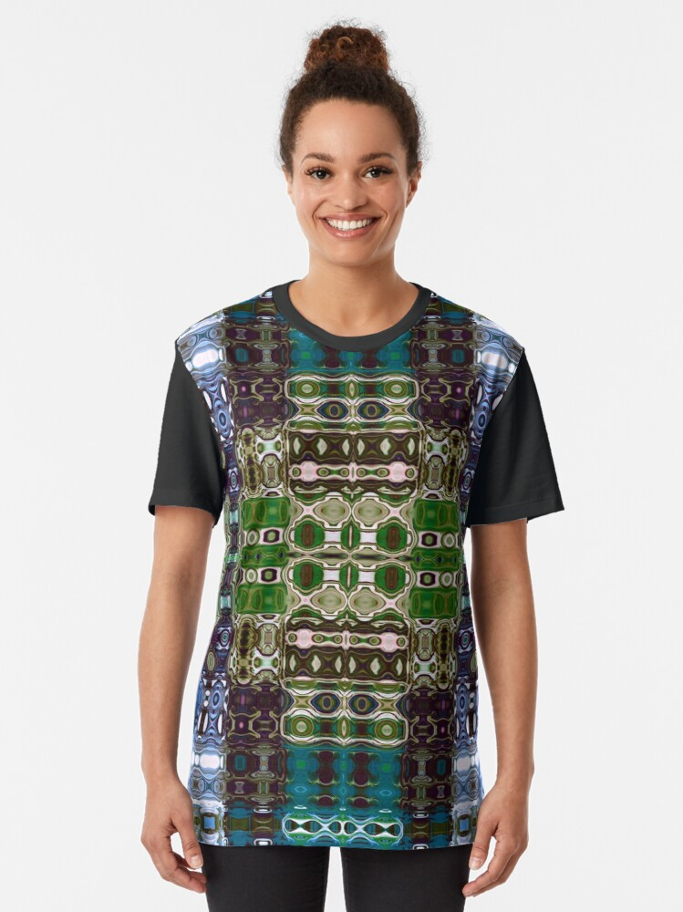 Alternate view of Bohemian Motif 4 Graphic T-Shirt
