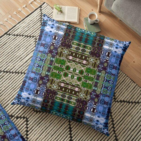 Bohemian Motif 4 Floor Pillow