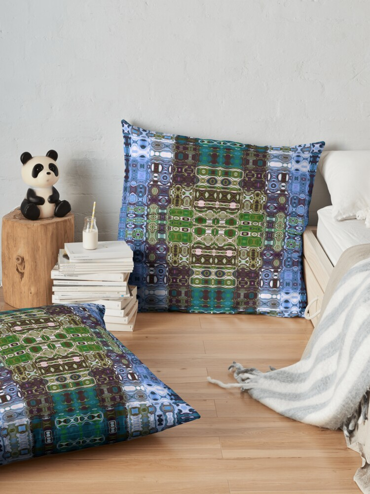 Alternate view of Bohemian Motif 4 Floor Pillow