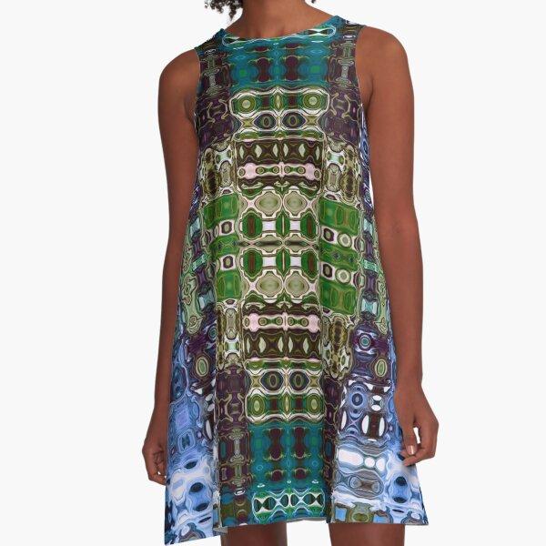Bohemian Motif 4 A-Line Dress