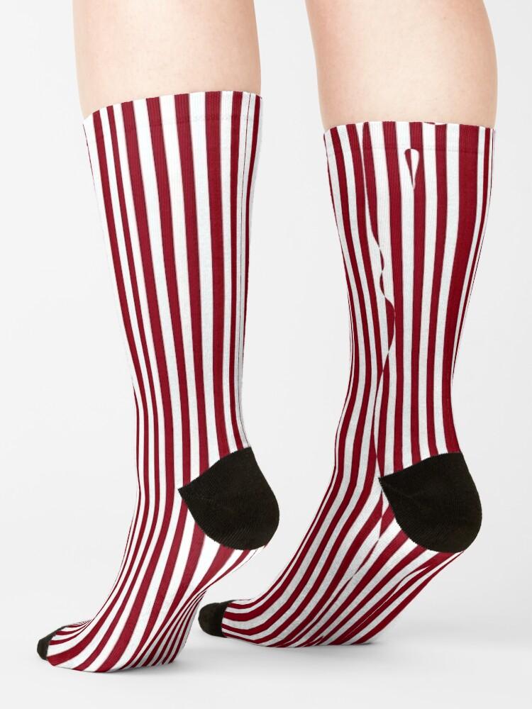 Alternate view of #Woman #Body #Silhouette #Clipart, anatomy, cute, sensuality, sex symbol, striped, elegance, design Socks