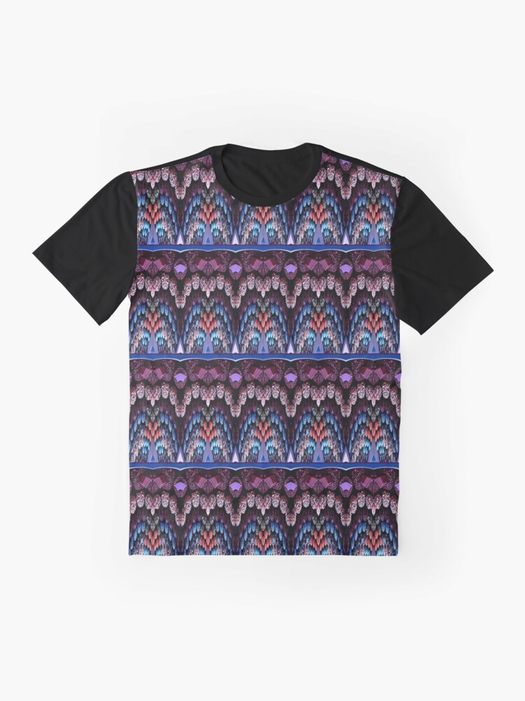 Alternate view of Victorian Motif 1 Graphic T-Shirt