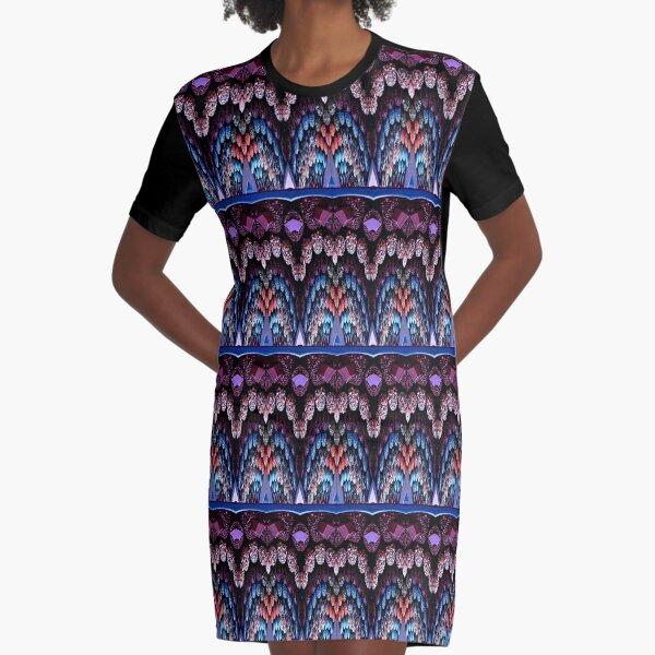 Victorian Motif 1 Graphic T-Shirt Dress