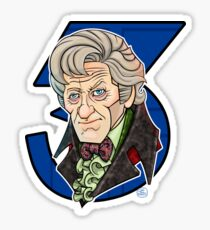 The Third Doctor Sticker