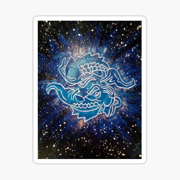 Fische, Sternzeichen Sticker