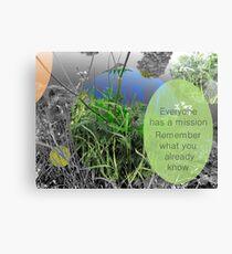 Mundy quote #8 Canvas Print